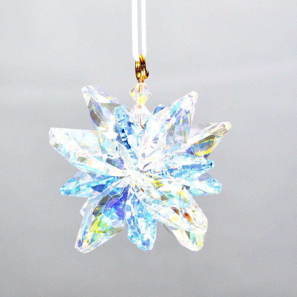 Crystal snowflake sf02j 01
