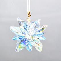 Aurora Borealis Crystal Snowflake Ornament image 1