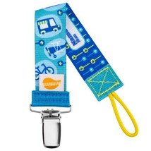 Ulubulu Universal Pacifier Clip - Transportation Clip - Boys- NUK, Avent... - $7.99