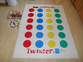 Old Vtg 1986/1993 TWISTER The Game That Ties You Up In Knots MB #4645 CO... - $29.69