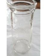 Vintage Urine Specimen Bottle. Embossed Glass 6oz Made in USA Chicago  - $9.00