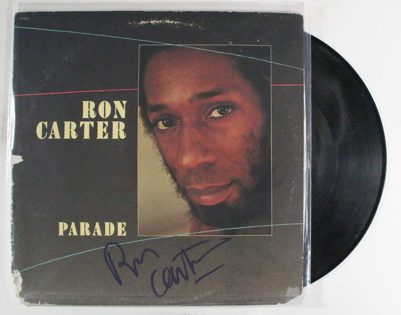 "Primary image for Ron Carter Signed Autographed ""Parade"" Record Album"