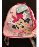New Disney Minnie Mouse Mini School Backpack Pink Brand with tag - $21.02