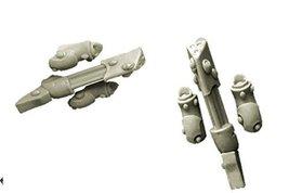 28mm Sci-Fi - Elves: Gattling Lasers for Space Elves Bikes (Miniature Toys)