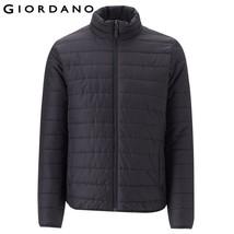 Giordano Men Jacket Men Solid Color Stand Collar Jacket Zip Front Pocket... - $69.95