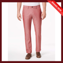 Tommy Hilfiger Men's Custom-Fit Chambray Chino pant - $20.46