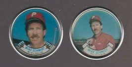 1987 and 1988 Topps Coins Mike Schmidt Philadelphia Phillies - $1.50