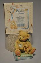 Cherished Teddies - Chalking Up Six Wishes - 911283 - Age Six - $11.18