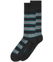 Alfani Men's Pop Stripe Socks (Tealblack, ONE SIZE) - $8.99