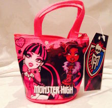 Monster High Coin Purse/Mini Tote— More Fun Character Coin PursesAvailable Too!