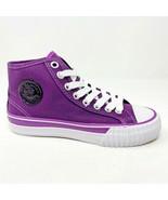 PF Flyers Center Hi Reis Purple White Kids Size 2.5 Casual Shoes PK11CH1G - $39.95