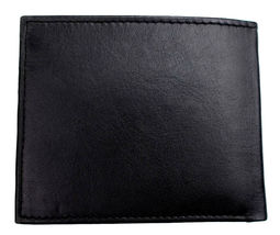 Tommy Hilfiger Men's Premium Leather Id Credit Card Coin Wallet Black 31Tl25X020 image 6