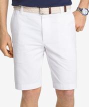 IZOD Men's Saltwater Flat Front Short, Bright White, Size 34X10.5 , MSRP... - $24.74