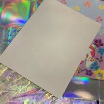 Vintage Lisa Frank Easter Bunny Stationery Sheets (2 Sheets) Unmarked image 4
