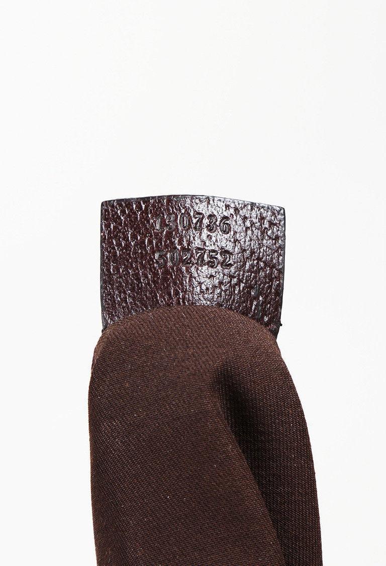 "Gucci Monogram Canvas Medium ""Abbye"" Shoulder Bag"