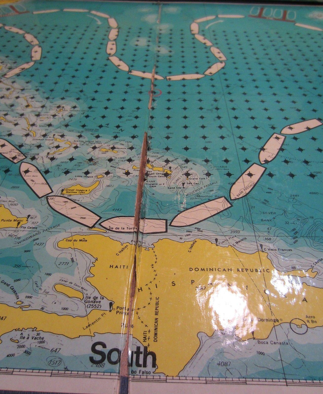 Vintage  Bermuda Triangle board game - complete image 2