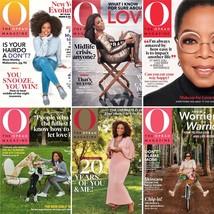 LOT NEW Full Set 2020 O Oprah Magazine Jan thru Aug 2020 Back Issues 20t... - $49.50