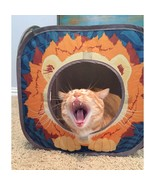 Kitty City Pop-up Cat Cube, Play Kennel, Cat Bed, Jungle Combo, Collapsi... - $9.88