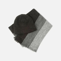 Kenneth Cole Men's Beanie and Scarf Set, Stripes - $26.24
