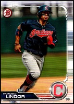 2019 Bowman #89 Francisco Lindor NM-MT Cleveland Indians  Officially Lic... - $0.99
