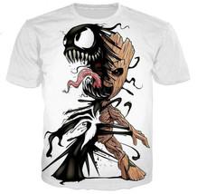 "New Men/Women""s marvel movie Galaxy Guard 3D Print Casual T-Shirt Short ... - $31.30"