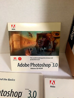 Adobe Photoshop 3.0 Mac Compete In Box