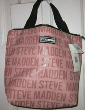 LUNCH TOTE Steve Madden LOGO BLUSH Women's Bags & Accessories MSRP $34.00 - $29.69