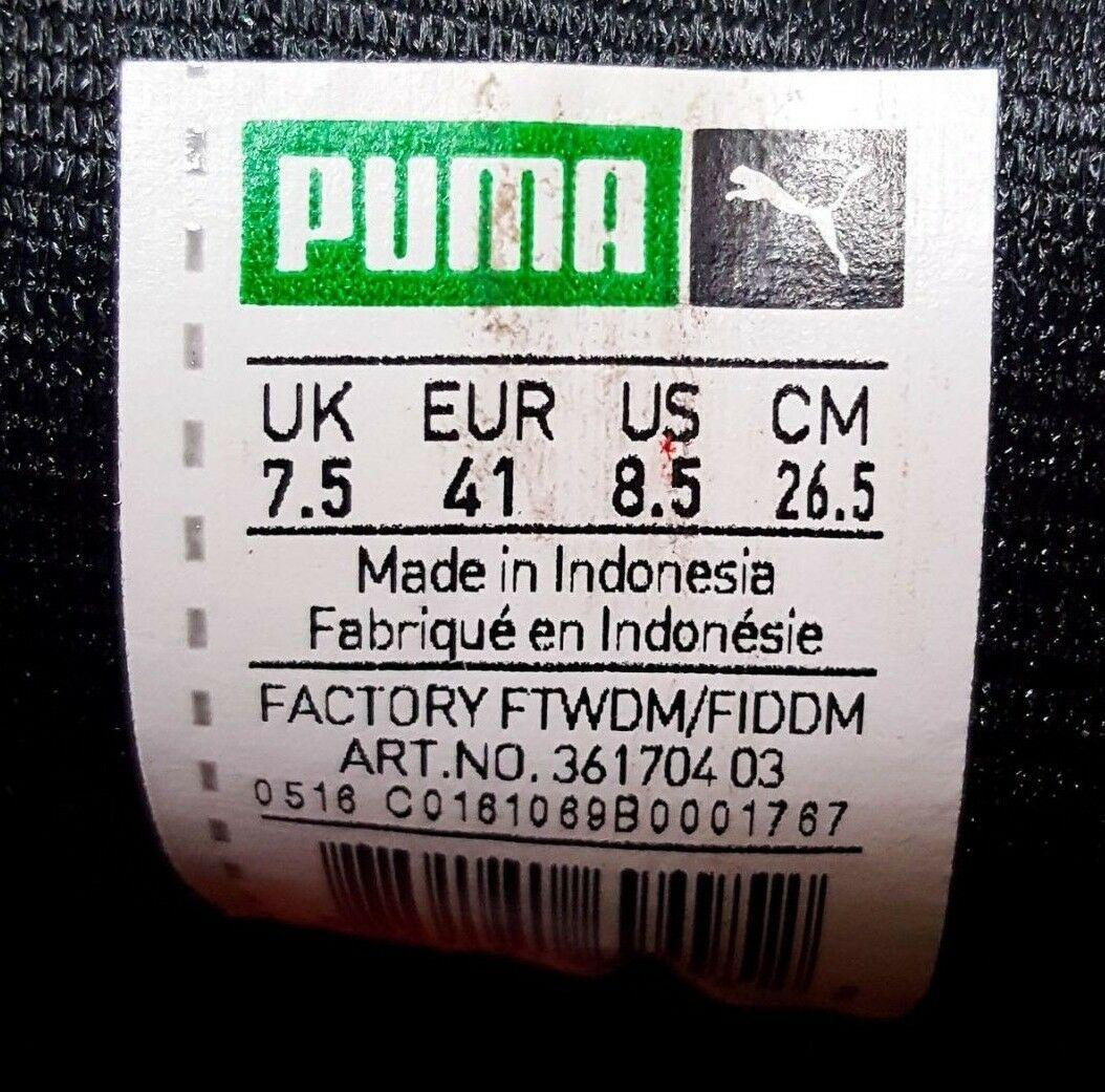Puma Clyde Dressed Peau de Serpent Rouge 361704-03 Sz 8.5 Animal Paquet