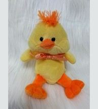 "6"" Animal Adventure Duck Chick Yellow Orange Soft Plush Stuffed Toy B350 - $9.99"