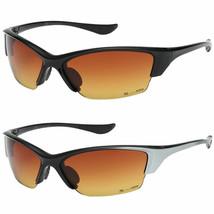 X-Loop HD+ Vision High Definition Wrap Around Men Women Sport Sunglasses Black - $6.92+