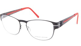 NEW PRODESIGN DENMARK 6126 c.6021 BLACK EYEGLASSES FRAME 51-17-140 BF B3... - $98.98