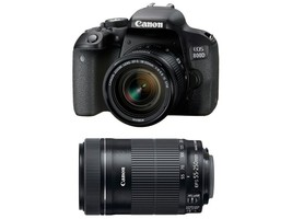 Canon EOS 800D DSLR Camera with 18-55mm  & 55-250 STM Lens - $1,026.65