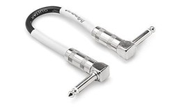 Hosa - CPE-112 - Right-Angle to Right-Angle Guitar Patch Cable -12 inch  - $8.86