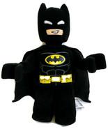 "Lego Batman Plush 13.5"" Minifigure Stuffed Toy Black Cape Movie Characte... - $17.21"