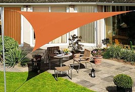 Asvert Triangle Waterproof Sun Shade Sail Perfect for Outdoor Patio Garden 333M