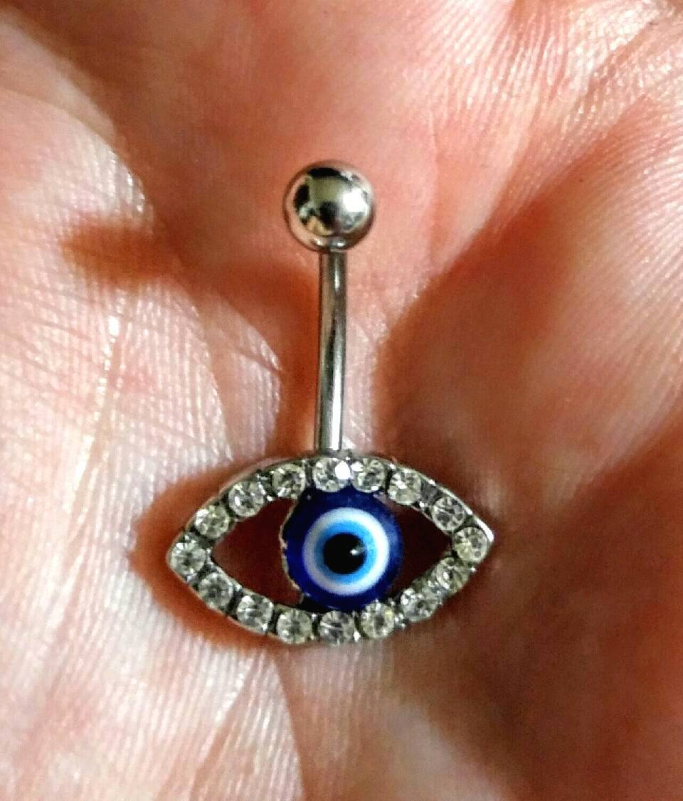 Evil Eye Belly Ring And 43 Similar Items