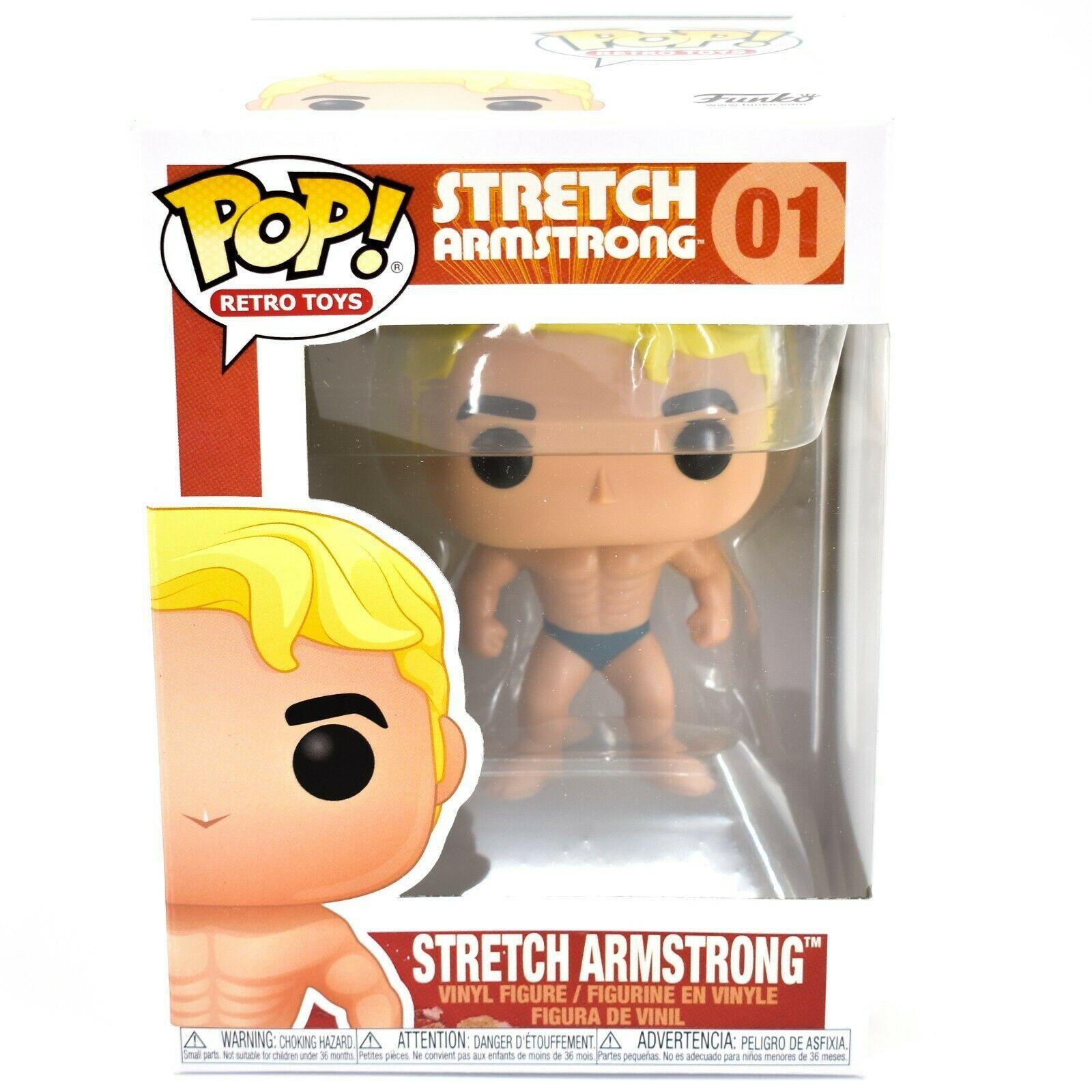 Funko Pop! Retro Toys Stretch Armstrong #1 Vinyl Figure
