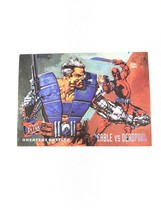 1995 Fleer Ultra Cable vs. Deadpool Greatest Battles Card #127 - $4.94