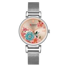 Curren Women's Steel Wrist Watch 9053 (Silver) - $30.00