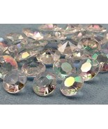 12mm Crystal 6.5 Carats Diamond Confetti AB Coating For Table Scatter 50... - $9.47
