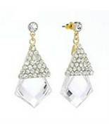 JLo Fashion Simulated Crystal Drop Earrings - $18.99