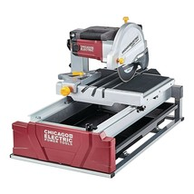 "10"" 2½ HP LARGE BEVEL WET TILE SAW Cuts Brick/Ceramic/Marble/Granite Wat... - $464.99"