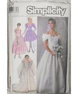Wedding Dress Bridesmaids Dresses Vintage Size ... - $12.00