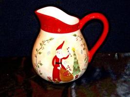Santa Pitcher AA19-1466 Vintage image 2