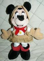 """Walt Disney Frontierland Minnie Bean Bag 9"""" - $15.94"""