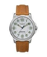 Timex Men's Expedition® Metal Field Watch - White Dial/Brown Strap - $59.49