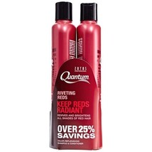 Zotos Quantum Riveting Reds Shampoo & Conditioner Set 10. 2 oz - Restore... - $24.72