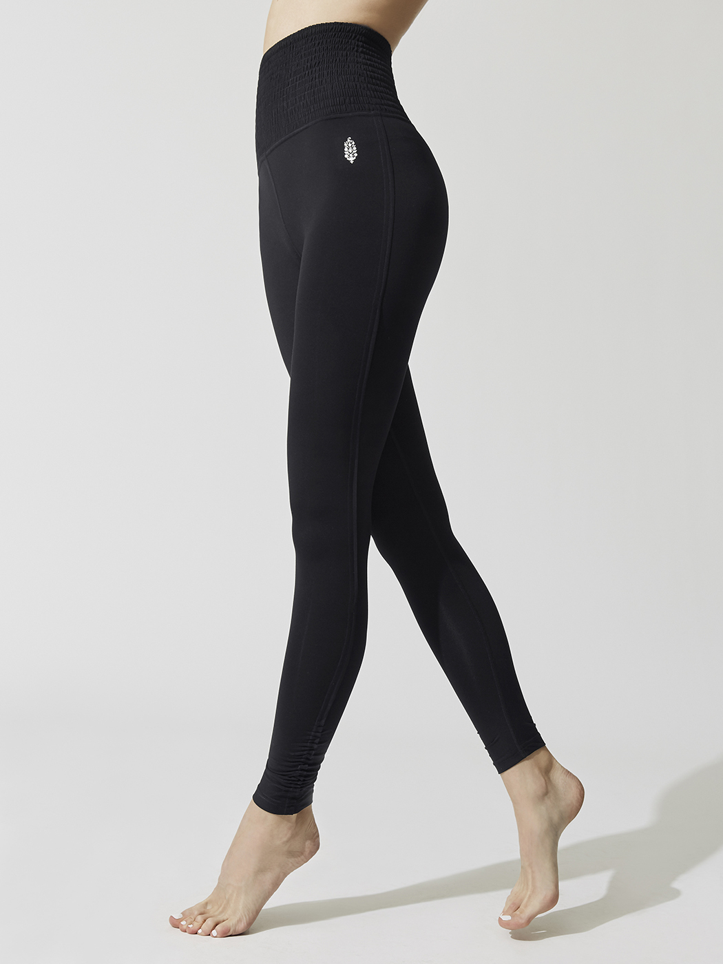 Women Smock It To Me Baby Legging in Black, Free People Movement