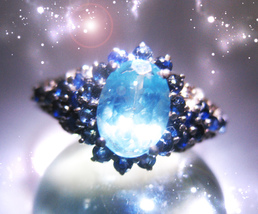 HAUNTED RING THE MASTER OF OMNIPOTENT POWER GOLDEN ROYAL COLLECTION MAGICK - $777.77