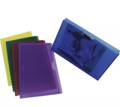 Staples Poly File Jackets Legal Assorted 5/Pack 50993 - $9.89